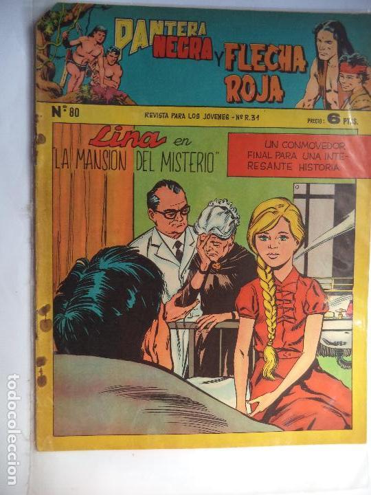 PANTERA NEGRA Y FLECHA ROJA Nº 80 (Tebeos y Comics - Maga - Tony y Anita)