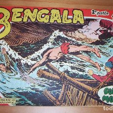 Tebeos: ORIGINAL - BENGALA - 2º PARTE - NUMERO: II - 4: SOPLA EL MONZÓN. Lote 115124115