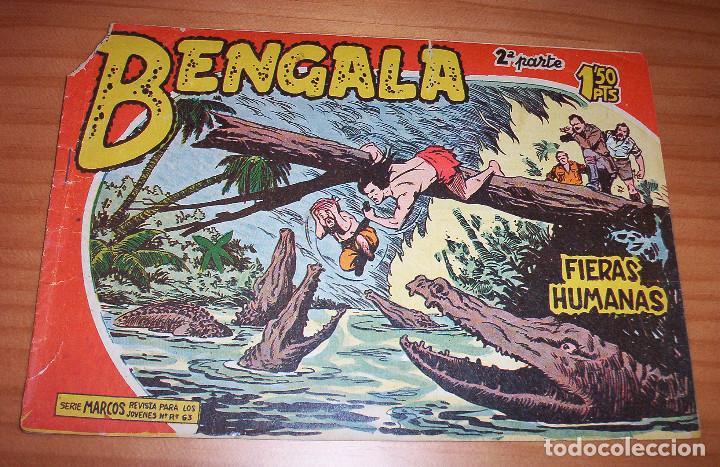 ORIGINAL - BENGALA - NUMERO: II - 12: FIERAS HUMANAS (Tebeos y Comics - Maga - Bengala)