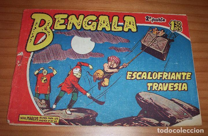 ORIGINAL - BENGALA - NUMERO: II - 27: ESCALOFRIANTE TRAVESÍA (Tebeos y Comics - Maga - Bengala)