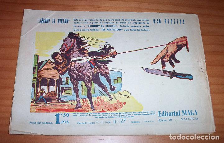 Tebeos: ORIGINAL - BENGALA - NUMERO: II - 27: ESCALOFRIANTE TRAVESÍA - Foto 7 - 115140511