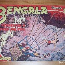 Tebeos: ORIGINAL - BENGALA - NUMERO: II - 28: TEMPESTAD A TRES MIL PIES. Lote 115162075