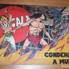 Tebeos: ORIGINAL - BENGALA - NÚMERO 11: CONDENADOS A MUERTE. Lote 115250359