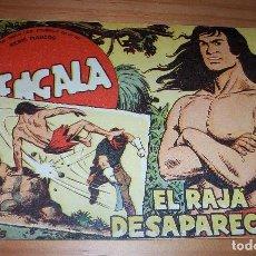 BDs: ORIGINAL - BENGALA - NÚMERO 18: EL RAJÁ DESAPARECIDO . Lote 115273895