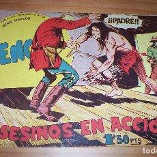 Livros de Banda Desenhada: ORIGINAL - BENGALA - NÚMERO 28: ASESINOS EN ACCIÓN. Lote 115282027