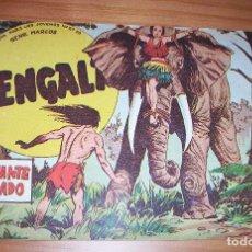 Tebeos: ORIGINAL - BENGALA - NÚMERO 30: EL ELEFANTE SAGRADO. Lote 115283939
