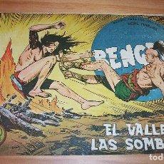 Tebeos: ORIGINAL - BENGALA - NÚMERO 36: EL VALLE DE LAS SOMBRAS. Lote 115324983