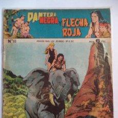 Tebeos: PANTERA NEGRA Y FLECHA ROJANº 83. Lote 115327335