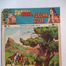 Tebeos: PANTERA NEGRA Y FLECHA ROJA Nº 84. Lote 115327507