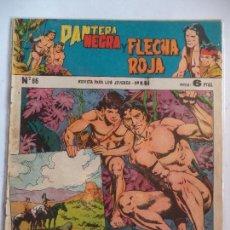 Tebeos: PANTERA NEGRA YFLECHA ROJA Nº86. Lote 115327695