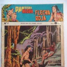 Tebeos: PANTERA NEGRA Y FLECHA ROJA Nº 87. Lote 115328279