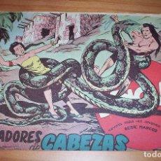 Tebeos: ORIGINAL - BENGALA - NÚMERO 47: LOS CORTADORES DE CABEZAS. Lote 115337415