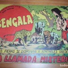 Tebeos: ORIGINAL - BENGALA - NÚMERO 53: LA LLAMADA MISTERIOSA. Lote 115339831