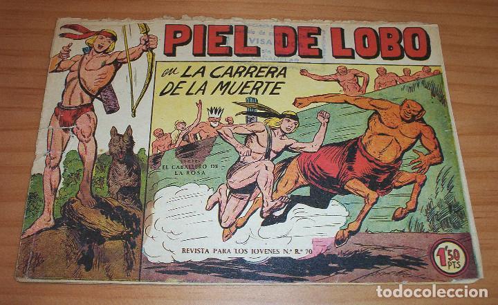 ORIGINAL - PIEL DE LOBO - NUMERO 6: EN LA CARRERA DE LA MUERTE (Tebeos y Comics - Maga - Piel de Lobo)