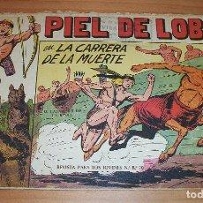 Livros de Banda Desenhada: ORIGINAL - PIEL DE LOBO - NUMERO 6: EN LA CARRERA DE LA MUERTE. Lote 115421583