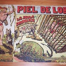 Tebeos: ORIGINAL - PIEL DE LOBO - NUMERO 21: LA JAULA DIABÓLICA. Lote 115422187