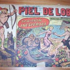 Tebeos: ORIGINAL - PIEL DE LOBO - NUMERO 61: TRAICION INESPERADA. Lote 115549347