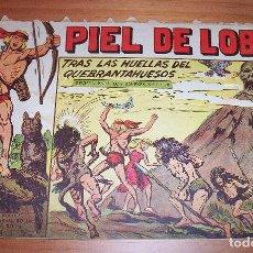 Tebeos: ORIGINAL - PIEL DE LOBO - NUMERO 63: TRAS LAS HUELLAS DEL QUEBRANTAHUESOS. Lote 115551639