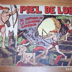 BDs: ORIGINAL - PIEL DE LOBO - NUMERO 65: EL MISTERIO DE LA CALAVERA ILUMINADA. Lote 115553795
