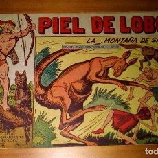BDs: ORIGINAL - PIEL DE LOBO - NUMERO 69: LA MONTAÑA DE SAL. Lote 115737031