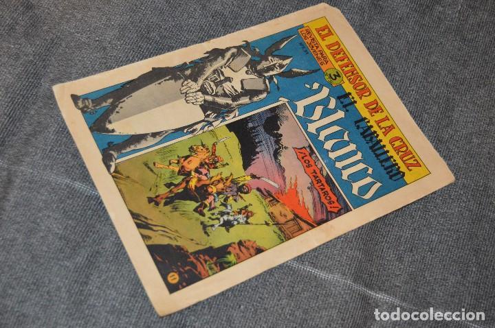 VINTAGE - ANTIGUO TEBEO - EL DEFENSOR DE LA CRUZ - Nº 11 - AÑOS 60 - ED. MAGA - BUEN ESTADO GENERAL (Tebeos y Comics - Maga - Otros)