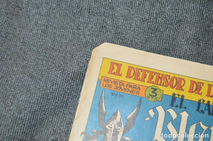 Tebeos: Vintage - ANTIGUO TEBEO - EL DEFENSOR DE LA CRUZ - Nº 11 - AÑOS 60 - ED. MAGA - BUEN ESTADO GENERAL - Foto 4 - 116127731