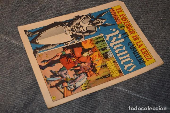 VINTAGE - ANTIGUO TEBEO - EL DEFENSOR DE LA CRUZ - Nº 6 - AÑOS 60 - ED. MAGA - BUEN ESTADO GENERAL (Tebeos y Comics - Maga - Otros)
