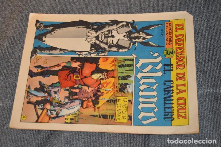 Tebeos: Vintage - ANTIGUO TEBEO - EL DEFENSOR DE LA CRUZ - Nº 6 - AÑOS 60 - ED. MAGA - BUEN ESTADO GENERAL - Foto 2 - 116127795