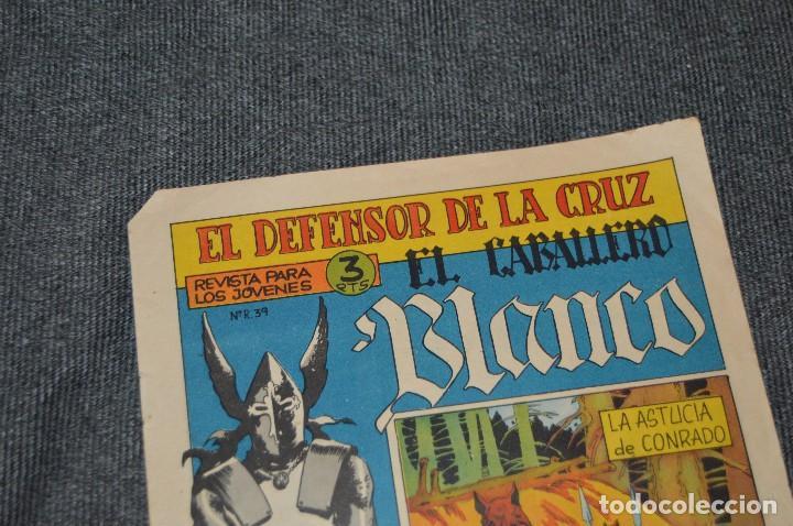 Tebeos: Vintage - ANTIGUO TEBEO - EL DEFENSOR DE LA CRUZ - Nº 6 - AÑOS 60 - ED. MAGA - BUEN ESTADO GENERAL - Foto 4 - 116127795