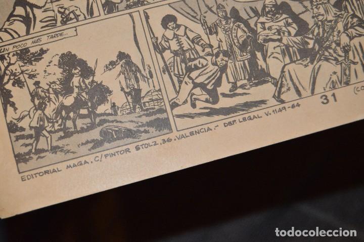 Tebeos: Vintage - ANTIGUO TEBEO - EL DEFENSOR DE LA CRUZ - Nº 6 - AÑOS 60 - ED. MAGA - BUEN ESTADO GENERAL - Foto 6 - 116127795