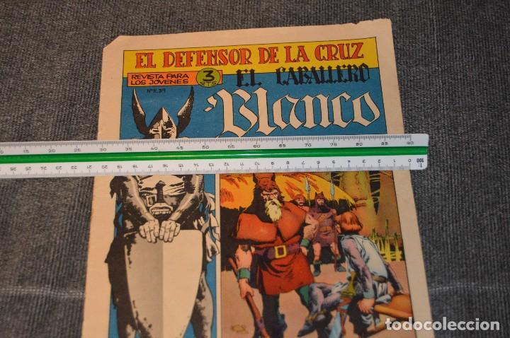 Tebeos: Vintage - ANTIGUO TEBEO - EL DEFENSOR DE LA CRUZ - Nº 6 - AÑOS 60 - ED. MAGA - BUEN ESTADO GENERAL - Foto 10 - 116127795