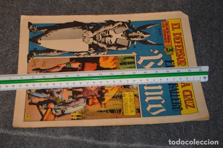 Tebeos: Vintage - ANTIGUO TEBEO - EL DEFENSOR DE LA CRUZ - Nº 6 - AÑOS 60 - ED. MAGA - BUEN ESTADO GENERAL - Foto 11 - 116127795
