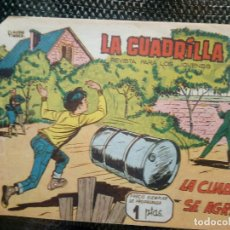 Tebeos: COMIC LA CUADRILLA Nº 1 - ORIGINAL - EDT. MAGA 1961 (M-1). Lote 116331723