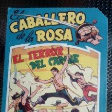 Tebeos: COMIC EL CABALLERO DE LA ROSA Nº 6 - ORIGINAL - EDT. MAGA 1958 (M-1). Lote 116335879