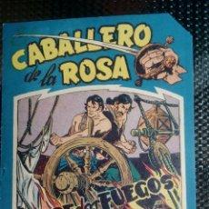 Tebeos: COMIC EL CABALLERO DE LA ROSA Nº 5 - ORIGINAL - EDT. MAGA 1958 (M-1). Lote 116336475