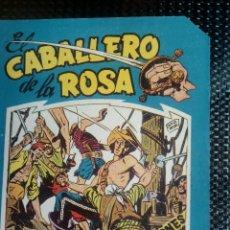 Tebeos: COMIC EL CABALLERO DE LA ROSA Nº 3 - ORIGINAL - EDT. MAGA 1958 (M-1). Lote 116337083