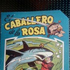 Tebeos: COMIC EL CABALLERO DE LA ROSA Nº 4- ORIGINAL - EDT. MAGA 1958 (M-1). Lote 116347911