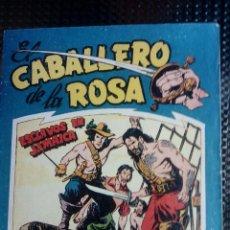 Tebeos: COMIC EL CABALLERO DE LA ROSA Nº 2 - ORIGINAL - EDT. MAGA 1958 (M-1). Lote 116348399