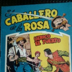 Tebeos: COMIC EL CABALLERO DE LA ROSA Nº 1 - ORIGINAL - EDT. MAGA 1958 (M-1). Lote 116348831