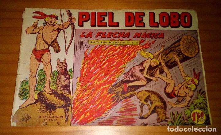 ORIGINAL - PIEL DE LOBO - NUMERO 71: LA FLECHA MÁGICA (Tebeos y Comics - Maga - Piel de Lobo)