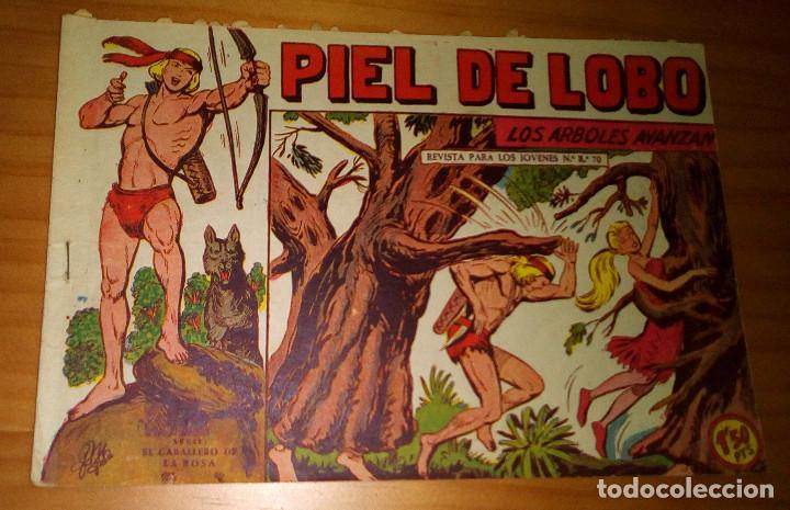 ORIGINAL - PIEL DE LOBO - NUMERO 76: LOS ÁRBOLES AVANZAN (Tebeos y Comics - Maga - Piel de Lobo)