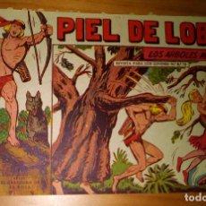 Livros de Banda Desenhada: ORIGINAL - PIEL DE LOBO - NUMERO 76: LOS ÁRBOLES AVANZAN. Lote 116643179