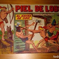 Tebeos: ORIGINAL - PIEL DE LOBO - NUMERO 77: EL HACHA DE ORO. Lote 116643847