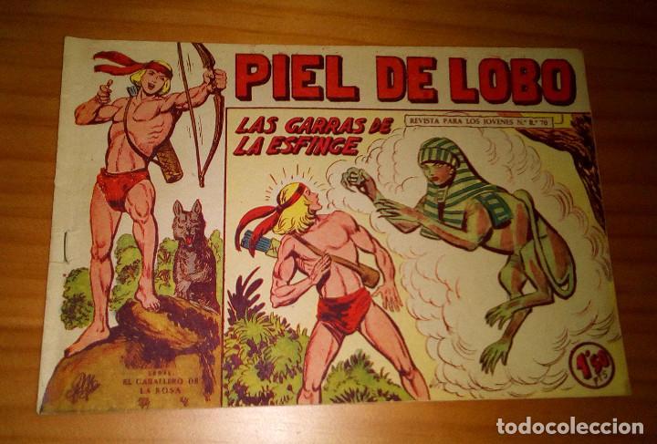 ORIGINAL - PIEL DE LOBO - NUMERO 79: LAS GARRAS DE LA ESFINGE (Tebeos y Comics - Maga - Piel de Lobo)