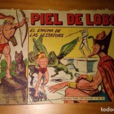 BDs: ORIGINAL - PIEL DE LOBO - NUMERO 81: EL ENIGMA DE LAS ESTATUAS. Lote 116646079