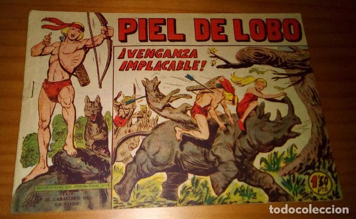 ORIGINAL - PIEL DE LOBO - NUMERO 83: ¡VENGANZA IMPLACABLE! (Tebeos y Comics - Maga - Piel de Lobo)