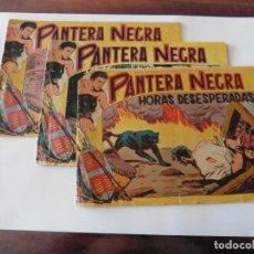 Tebeos: PANTERA NEGRA Nº 29-31-34- ORIGINAL 1,25 . Lote 116713955