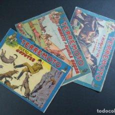 Tebeos: DAN BARRY EL TERREMOTO (1954,MAGA) LOTE 3 Nº : 17, 53,74. Lote 117949247
