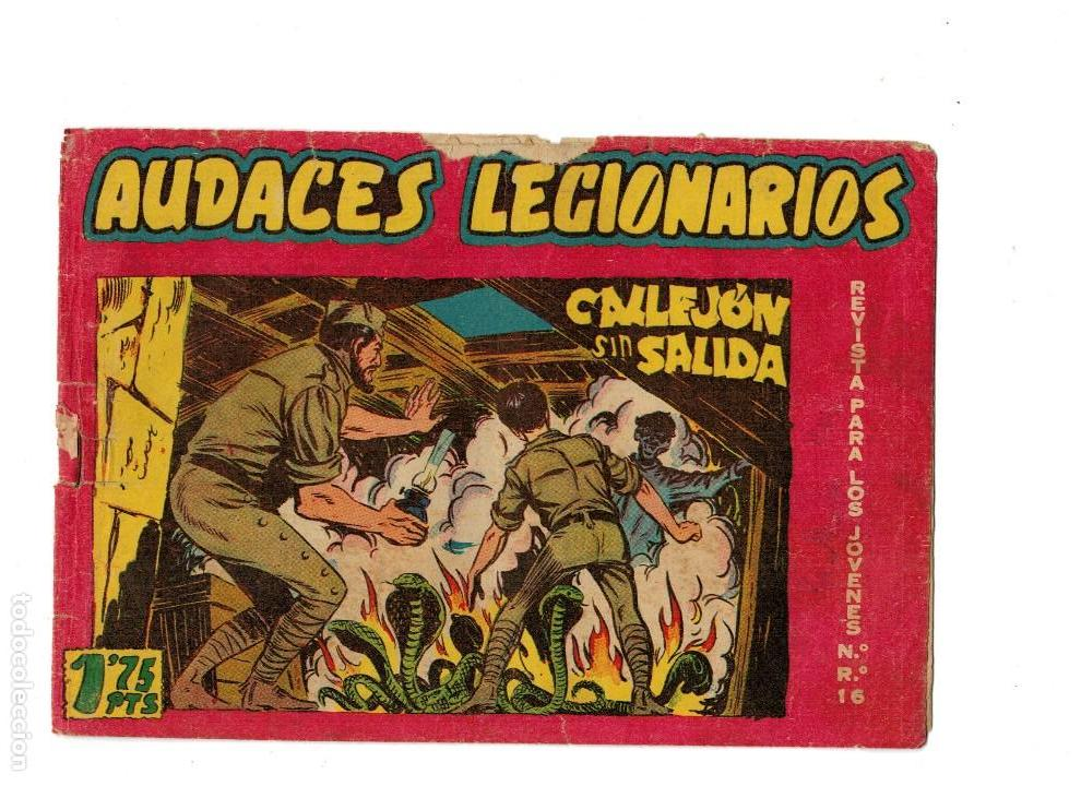 AUDACES LEGIONARIOS Nº 26 ORIGINAL -MAGA 1958- (Tebeos y Comics - Maga - Otros)