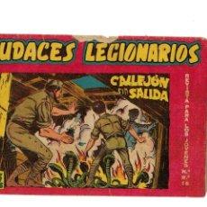 Tebeos: AUDACES LEGIONARIOS Nº 26 ORIGINAL -MAGA 1958-. Lote 118496855